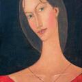 Portret 1 / 2005 / olej na płótnie / 55 x38 cm.