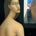 Portret 2 / 2005 / olej na płótnie / 70 x 50 cm.