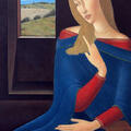 Portret 3 / 2006 / olej na płótnie / 100 x 70 cm.
