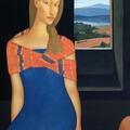 Portret 5 / 2009 / olej na płótnie / 120 x 80 cm.