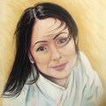 Portret, obraz olejny.
