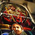 św Albert Chmielowski / obecnie witraż w kościele Św Rodziny w Legnicy