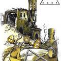 10 Denarów - Ukrzyżowanie. Autor talii Światosław Nowicki. Rysunek Robert Sobota.