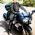 Portret na motorze