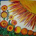 Słońce w kwiatach