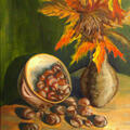 kasztany (olej na płótnie 50x60)