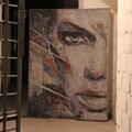 Mozaika - obraz, inspirowany pracą Danny O'Connora, wielkość 110/140cm, wykonany z płytek 5/5mm