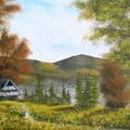 Jesień w Beskidach Farby na płótnie Format : 60x40 cm