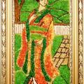 Geisza Mozaika szklana