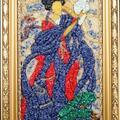 Greczynka-  Mozaika z kamieni półszkachetnych
