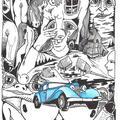 Lustrzana nuda-obraz z serii