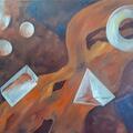 Oil on Canvas 80x60cm.
